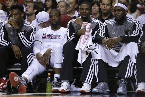 heat three bench