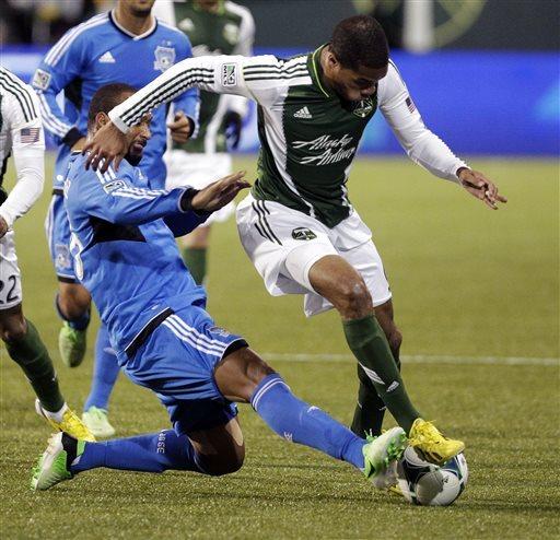 Timbers' Johnson answers slur with winning goal