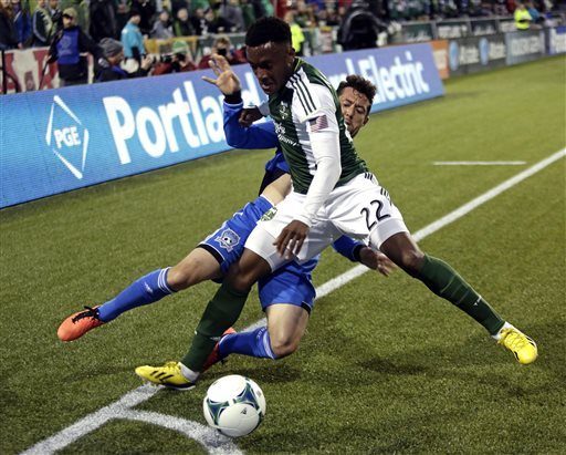 Timbers' Johnson answers slur with winning goal