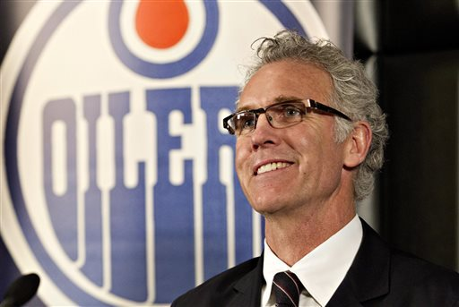 Craig MacTavish takes over as the fifth GM in Oilers history. (AP)