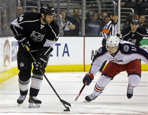 LA Kings slow Blue Jackets' roll with 2-1 victory