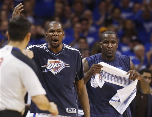 Thunder blast Rockets 120-91 in Game 1