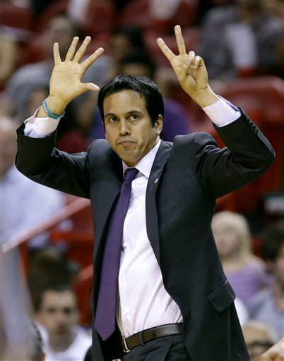 Spoelstra pulling the right strings for Heat