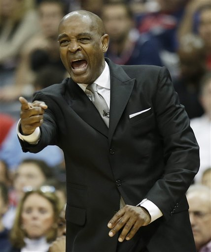 Larry Drew has taken the Hawks to the playoffs each of the past three seasons. (AP)