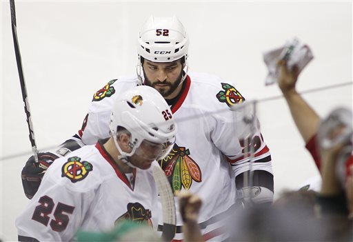 Blackhawks-Wild Preview
