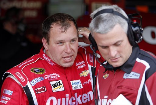 Newman says hasn't heard from NASCAR