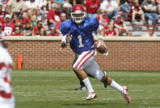 Oklahoma quarterback Kendal Thompson arrested