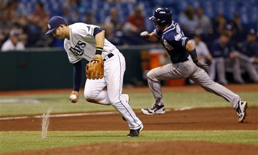Cobb fans 13 in 4 2-3 innings, Rays top Padres