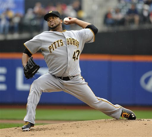 Liriano Ks 9 in Pirates debut, beats Mets 11-2