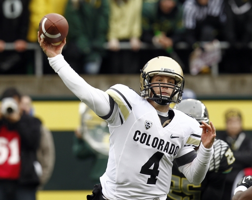 Colorado QB Webb, ex-lineman arrested for assault