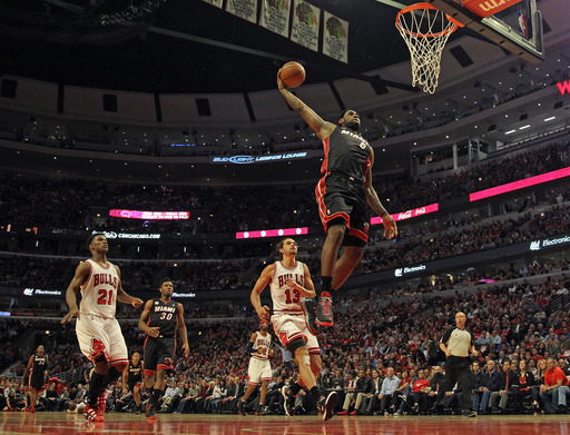 James, Heat beat Bulls 88-65 for 3-1 series lead