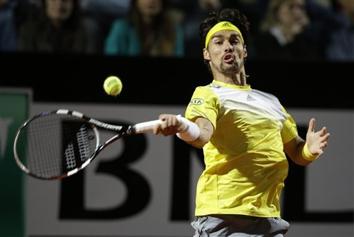 Fognini, Stakhovsky, Mathieu advance at Nice Open