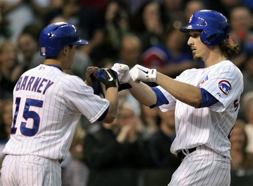 Samardzija homers, throws 8 innings in Cubs' win