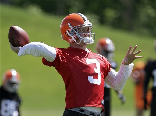 Browns QB Weeden: 