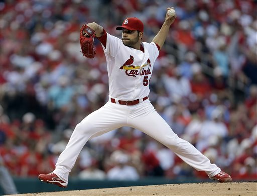 Cardinals place LHP Garcia on DL