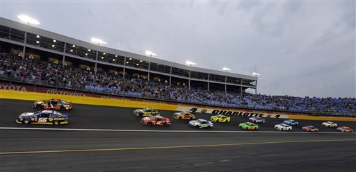 McMurray and Stenhouse race into All-Star Race