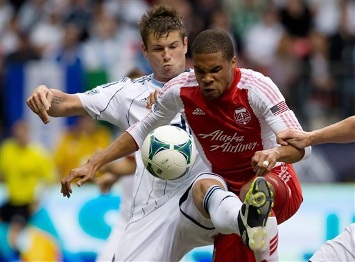 Valencia gives Timbers 2-2 draw with Whitecaps