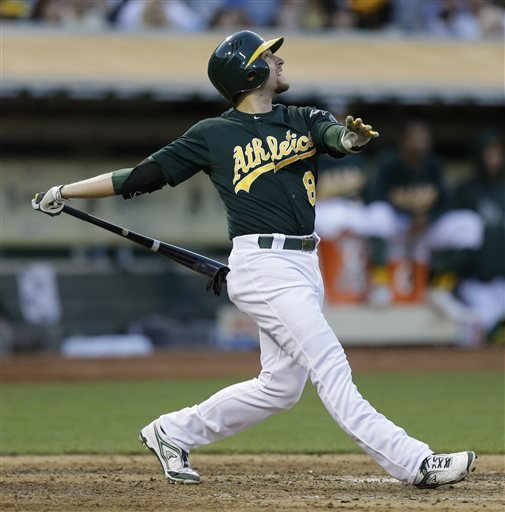 Milone's long skid ends as A's beat Royals