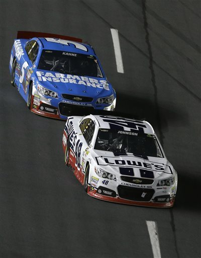 Jimmie Johnson races to record 4th All-Star win