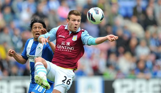 Wigan Athletic 2, Aston Villa 2