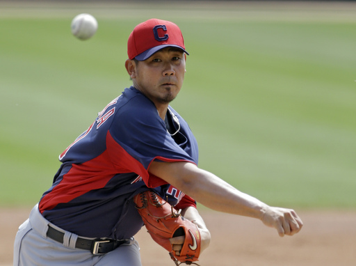 Indians' Matsuzaka improving from side injury
