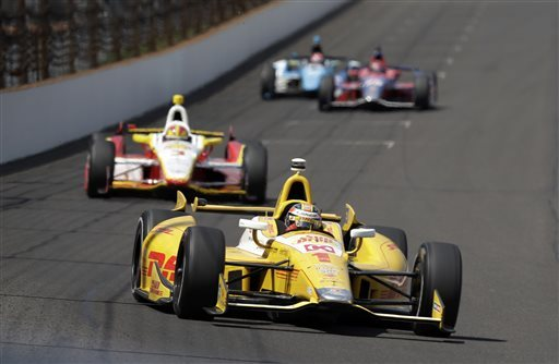 Young Americans waste no time qualifying for Indy