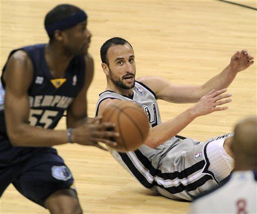 Spurs rout Grizzlies 105-83 in West finals opener