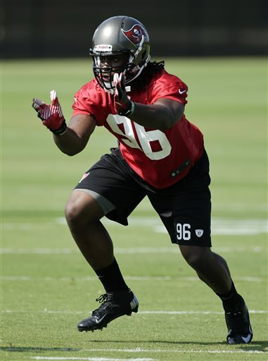 Bucs have high hopes for rookie DE Steven Means