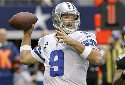 Romo active on field while idled over cyst removal