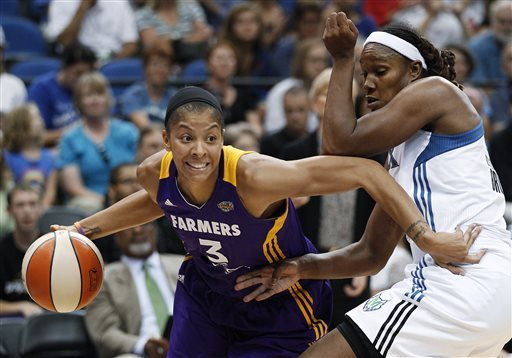 Parker resumes chase for her 1st WNBA title