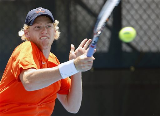 Virginia defeats UCLA to win NCAA men's tennis