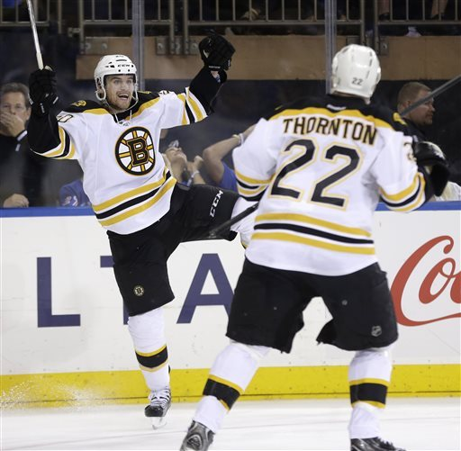 Relaxed Bruins look to finish Rangers in Game 4