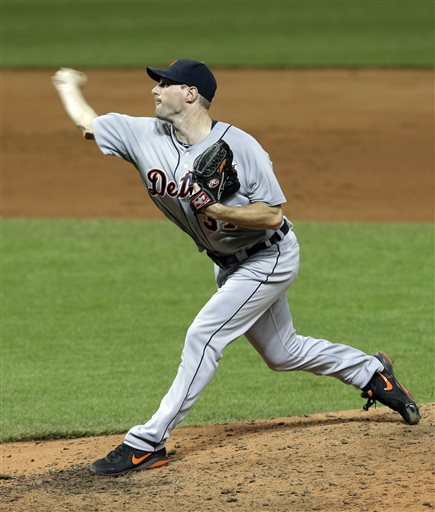 Tigers topple Indians 5-1