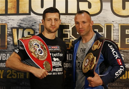 Froch seeks to avenge loss to Kessler