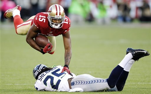 WR Crabtree tears right Achilles tendon