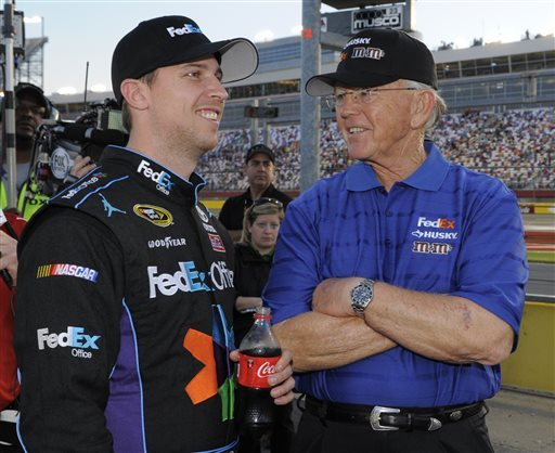 Hamlin takes Coca-Cola 600 pole with record lap