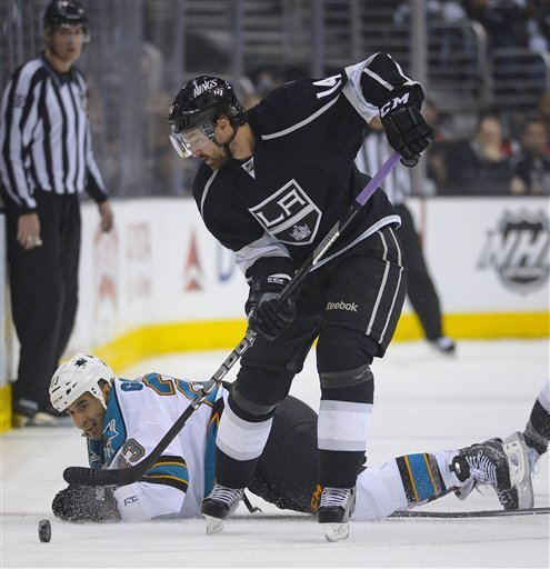 Quick's LA Kings put Sharks on brink with 3-0 win