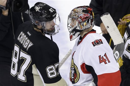 Penguins oust Sens in five, reach Eastern finals