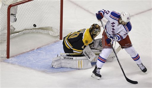 Bruins eliminate Rangers with 3-1 win in Game 5