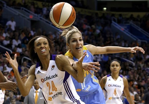 Delle Donne leads Sky to 102-80 win over Phoenix