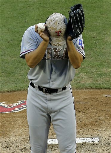 Gregorius' HR off Darvish leads Arizona to sweep