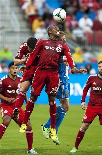 McInerney's late goal gives Union draw at Toronto