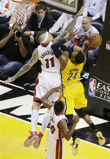 Heat off to Finals, beat Pacers 99-76 in Game 7