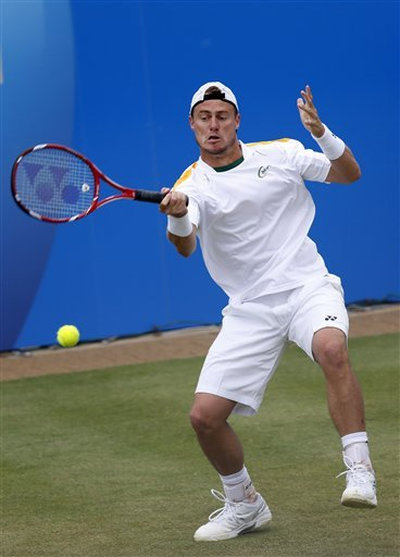 Hewitt downs Querrey of US at Queen's Club