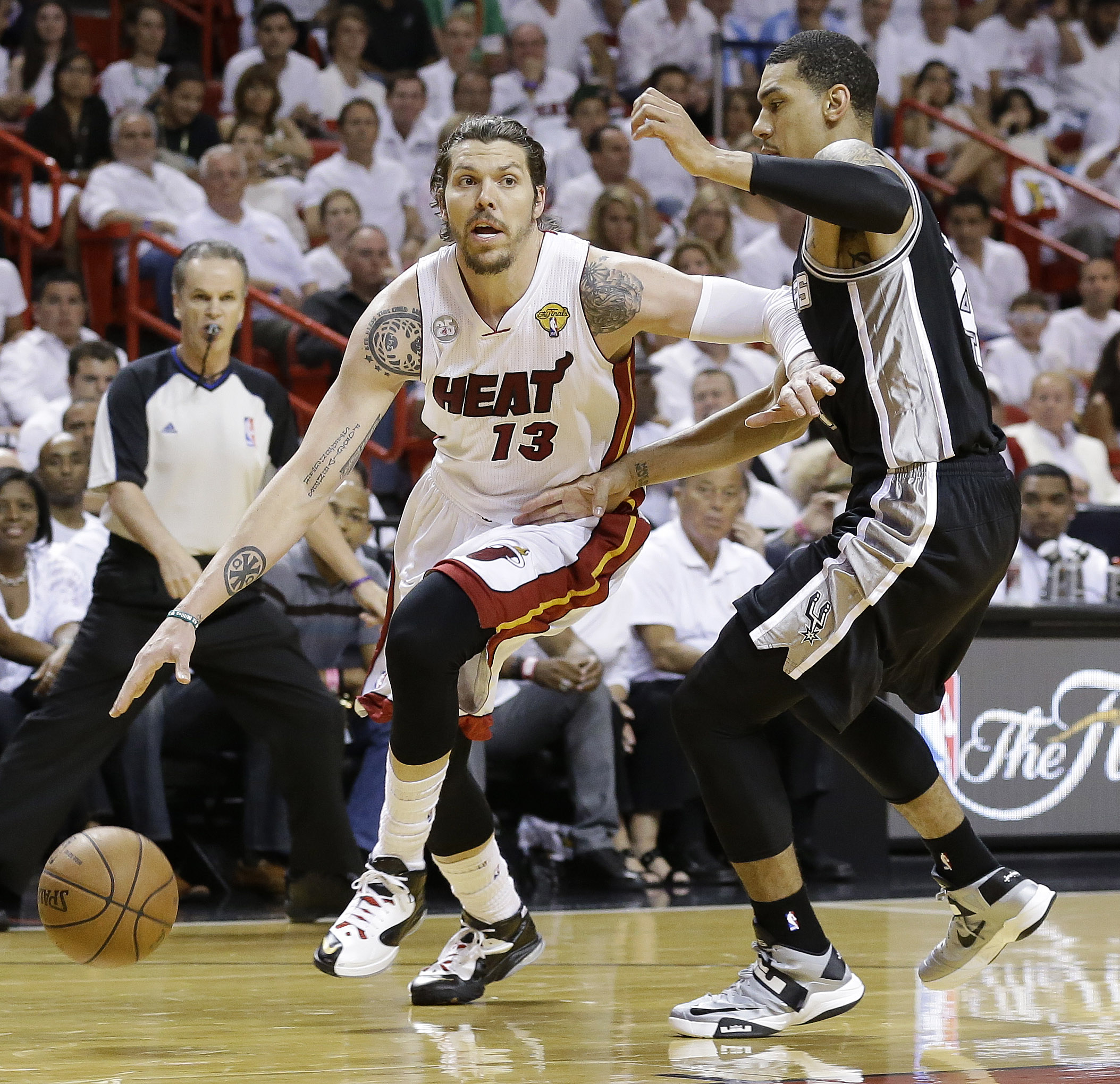 Mike Miller won back-to-back championships with the Heat the past two seasons. (AP)