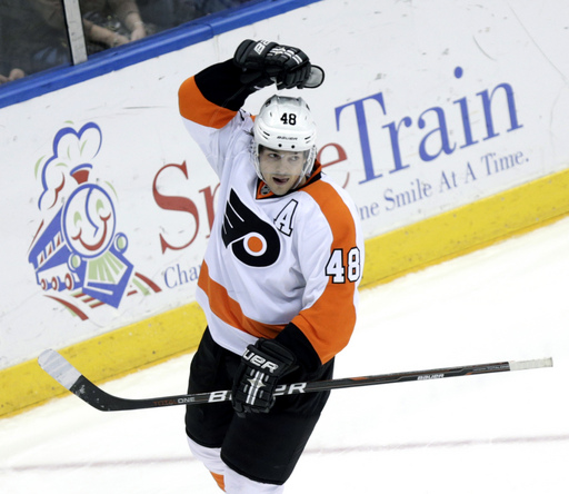 AP Source: Flyers set to buy out Briere's contract