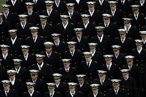Academy: 3 midshipmen charged with sexual assault