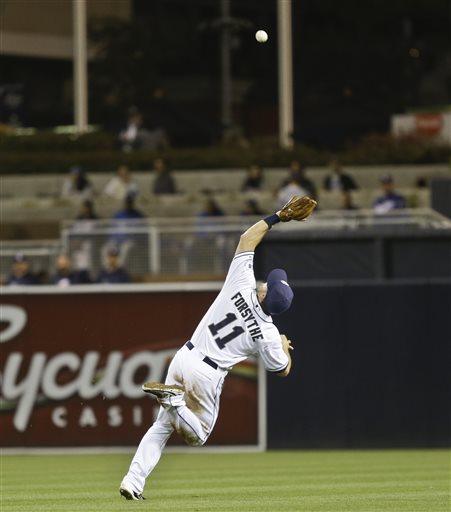 Ciriaco, defense lead Padres over Dodgers, 6-3