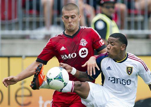 Alvarez scores to help RSL beat Toronto 1-0