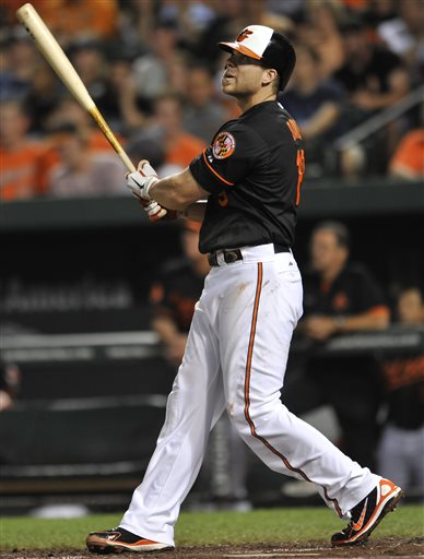 Davis hits 31st homer as Orioles beat Yankees 4-2